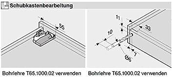 Blum Tandem plus Blumotion Guide per cassetti con giunti 560H