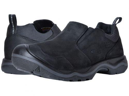 Keen(キーン) メンズ 男性用 シューズ 靴 スニーカー 運動靴 Rialto Slip-On - Black [並行輸入品] B07BLWY6R6