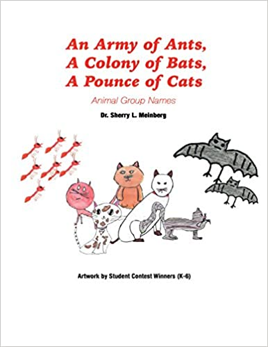 an army of ants a colony of bats a pounce of cats animal group