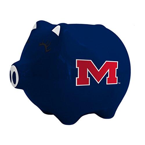 Boelter Brands NCAA Mississippi Ole Miss Rebels Ceramic Piggy ()