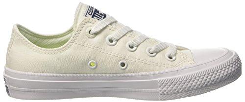 Converse 150154c, Sneaker a Collo Basso Uomo Bianco (White/White/Navy)