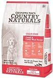 Cheap Grandma Maes Country Naturals Grain-Free Lamb Dry Dog Food, 4 Pound Bag
