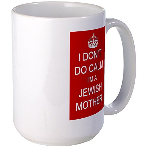 CafePress Jewish Mother Mug Coffee Mug, Large 15 oz. White Coffee Cup