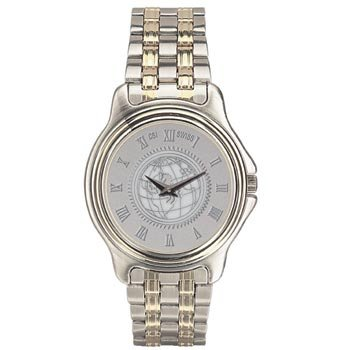US Air Force Academy - Men's Two Tone Stainless Steel Watch - Silver