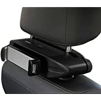 "Tablet Headrest Car Mount for Xmas traveling, Luxury Tablet Car Mount iPad Car Headrest Universal Car Headrest Backseat Holder for 4.7"" to 13"" iPad, Kindle, Galaxy Tabs, iPhone 8 X, Cellphone"