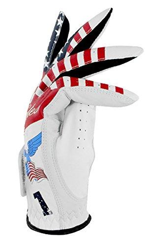easyglove-FLAGUSA-1-Mens-Golf-Glove-White