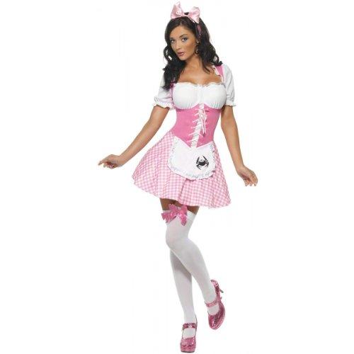 Miss Muffet Costume - Small - Dress Size 6-8]()