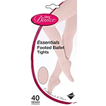 Silky Childrens Girls Dance Essential Full Foot Tights (1 Pair)