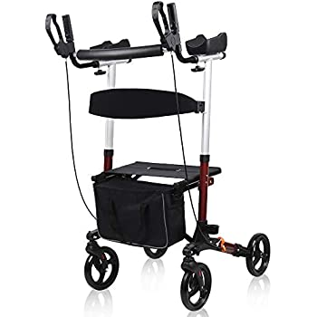 Amazon.com: BEYOUR WALKER - Andador vertical con ruedas ...