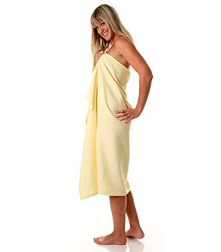 Oversized Beach Towel Set, 36x68 inches Pool Towel in Yellow