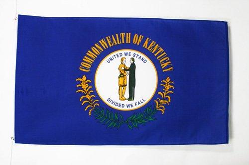 Kentucky State Flag - AZ FLAG Kentucky Flag 2' x 3' - US State of Kentucky Flags 60 x 90 cm - Banner 2x3 ft