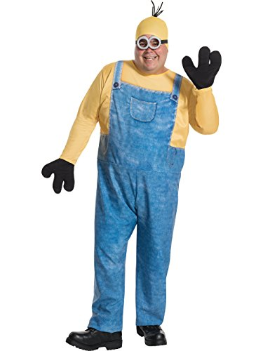 Rubie's Costume Co Men's Minion Kevin Plus Size Costume, Multi, One Size (Tall Size Costumes)
