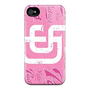 Iphone High Quality Tpu Case/ San Diego Padres VZXipWw-3635 Case Cover For Iphone 4/4s