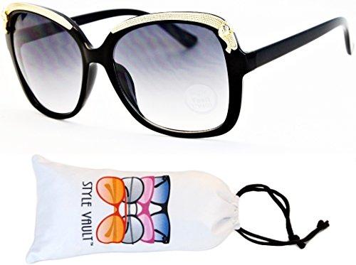 Wm3042-vp Style Vault Antique Oversized Cateye Sunglasses (E1933G - Print Sunglasses Animal Zoo