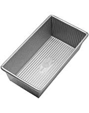 USA Pans 8.5 x 4.5-Inch Aluminized Steel Loaf Pan with Americoat Loaf Pan