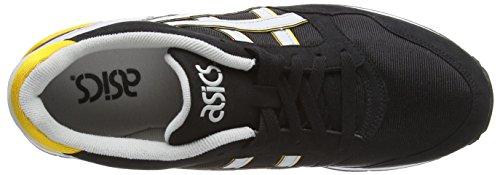 Sportive Nero Unisex 9010 Taglia Asics Black Grey Gel Soft Atlanis Scarpe nYt1g