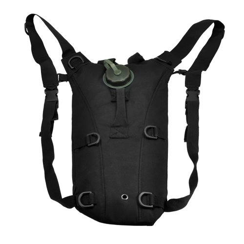econoLED Us Army 3l Hydration Water Backpack Black+Survival