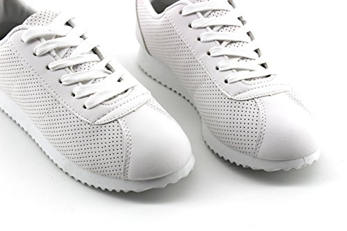 Modelisa - Zapatillas Microperforado Mujer Blanco