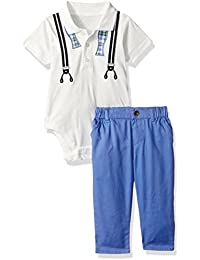 The Children's Place Baby-Boys' Li'l Guy's Pant & Polo Outfit Set