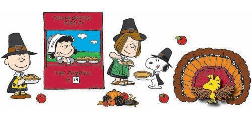 Peanuts Thanksgiving Door Decorations Classroom Decor