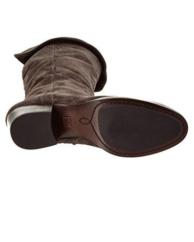 Smoke Leather Boot Women's OTK Oiled Slouch FRYE Suede Clara wqYtZAp
