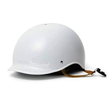 Thousand Poplock - Casco antirrobo para Bicicleta, Color Arctic White, tamaño Small