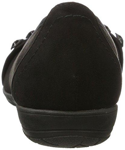Softline 22160, Bailarinas para Mujer Negro (Black)