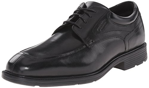 Rockport Men's Style Future Algonquin Oxford, Black, 12 W (Split Toe Oxfords)