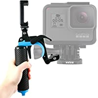 Floating Hand Grip Trigger Stabilizer Support Mount for GoPro Action Cameras: Hero5 Black, Hero5 Session, Hero4 Session, Hero4 Session/Surf, Hero4, Hero+LCD & Hero - by DURAGADGET