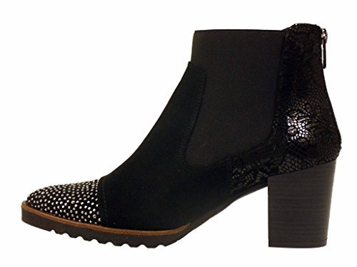 capi Boots d7227 Dorking Noir noir xBwqTUF