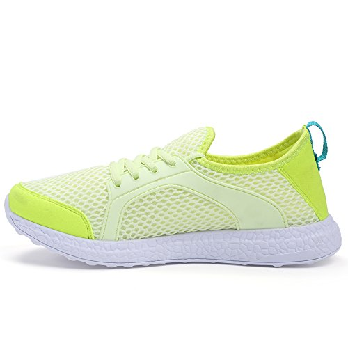 Sneakers Ultra Walking Running Green Casual Women's Shoes Breathable Sport Lightweight Mesh Mxson wqBpOp
