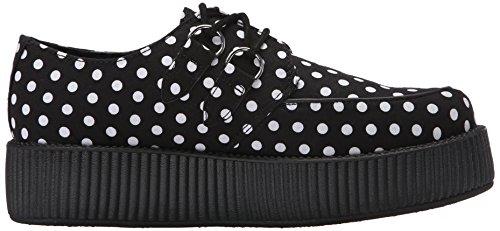 TUK Shoes , Chaussures de ville à lacets pour femme Noir noir