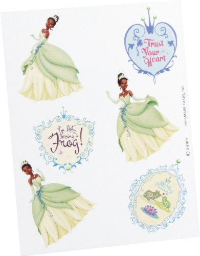 Disney Princess and the Frog Tattoos (8 sheets) Party Accessory Frog Tattoos