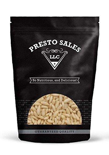 Pine Nuts, Turkish Mediterranean (8 oz.) by Presto Sales LLC