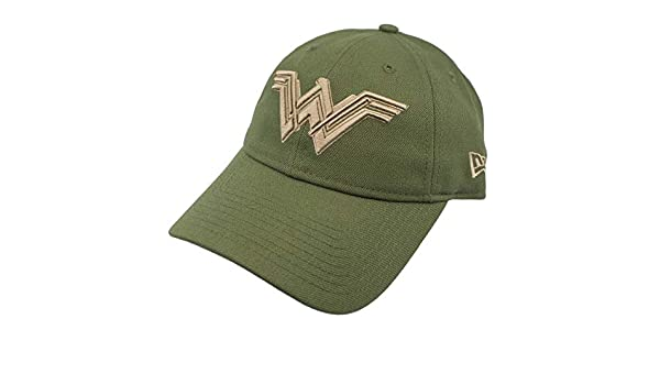 3136f1d7857 New Era Wonder Woman Salute to Service 9Twenty Adjustable Hat at Amazon  Men s Clothing store