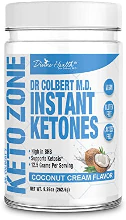 Instant Ketones Powder Coconut Flavor product image