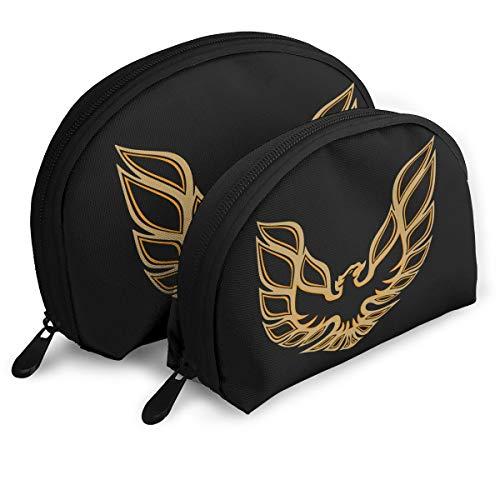 Pontiac Trans Am Firebird Women Handbag Shell Makeup Pouch Storage Bag Toiletry Organizer
