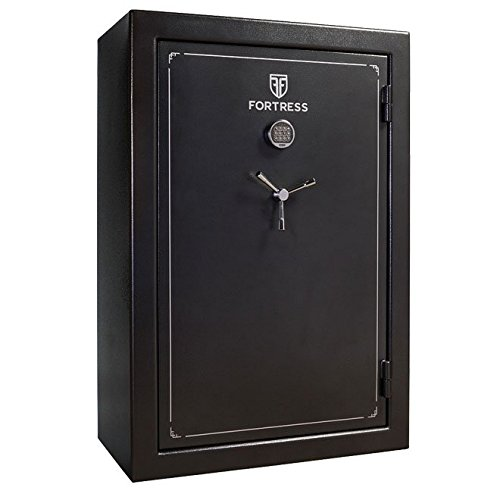 Fortress FS45E 45-Gun Steel Fireproof Security Safe with Electronic Lock