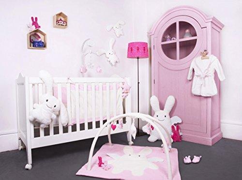 Trousselier V118003Hausschuhe Kaninchen Angel 0bis 1Jahr Pink