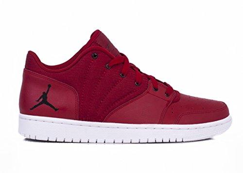 4 Negro Men´s Shoes Jordan Basketball Rojo Gimnasio Nike Low Red Flight blanco 1 I4qwOw