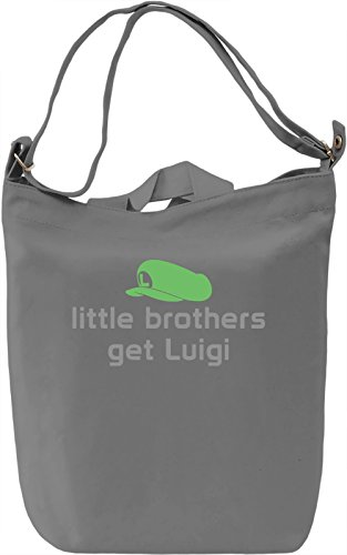 Go, Get Luigi! Borsa Giornaliera Canvas Canvas Day Bag| 100% Premium Cotton Canvas| DTG Printing|