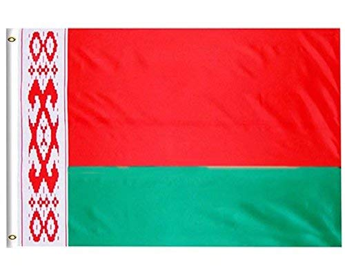 Belarus Flag - DFLIVE Belarus Country Flag 3x5 ft Printed Polyester Fly Belarus National Flag Banner with Brass Grommets