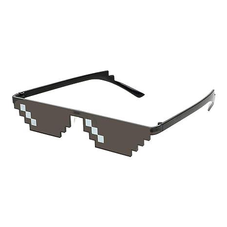 Gafas de Sol de Motocicleta Gafas graduadas de Pixelated Gafas para Deportes al Aire Libre