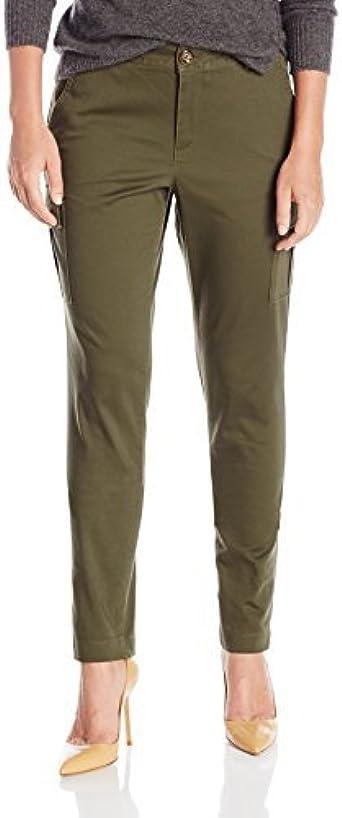 Dockers Pantalones Mujer Verde Dockers Olive 4 Petite Us Talla Amazon Es Ropa Y Accesorios