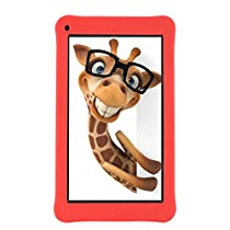 AOSON 7 Inch Kids Tablet 16GB Android 6.0 Quad Core KIDOZ Pre Installed Parental Control-iWawa WiFi Bluetooth Dual Camera 2.0 HD Video 3D Game M753-S1 7 Tablets PC