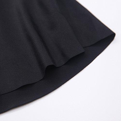 Vsecrety Dos piezas De las mujeres Cabestro Fuera del hombro Salir enfadado Trajes de baño Alta cintura Bikini Conjuntos Negro