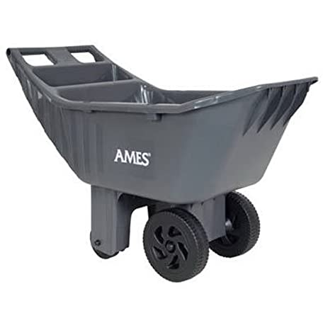 Ames Easy Roller Poly Yard Cart   2463875