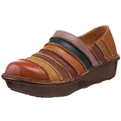 Spring Step Women's Firefly Slip-On,Camel Multi Leather,35 EU/5 M US
