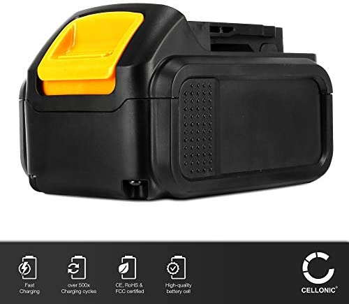 CELLONIC® Premium battery (14.4V, 3Ah, Li-Ion) compatible with Dewalt DCD720 DCD730 DCD735 DCD931 DCD936 DCL030, 3Ah DCB140, DCB141, DCB142 replacement battery spare