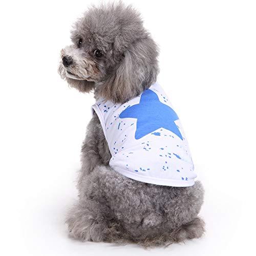 Clearance Sale! Pet Clothes Cinsanong Lovely Puppy Classic Apparel Dog Autumn T-Shirt Vest Clothes